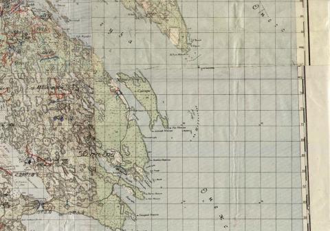 Карта. Группа Авакумова. Шлыкнаволок
