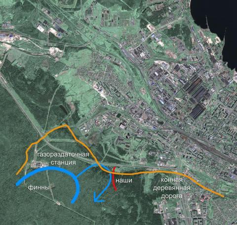 Карта боя у источника